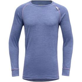 Devold Breeze LS Shirt Youth, blauw